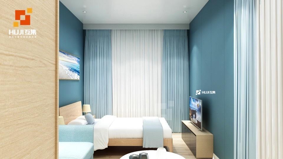 集装箱民宿酒店:35平米D户-HUJI互集