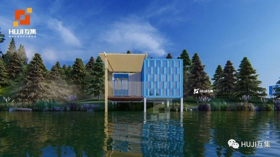 互集设计|15款休闲集装箱民宿,丰富居住空间的延伸乐趣-HUJI互集